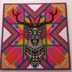 Hama perler bead Art by Louise Thomsen