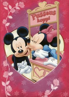 Mickey n Minnie! Mickey And Minnie Love, Mickey Mouse And Friends, Mickey Minnie Mouse, Cute Disney, Disney Art, Walt Disney, Mickey Mouse Images, Disney Mickey Mouse, Image Mickey