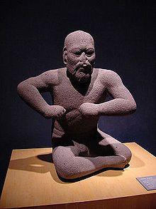 «Борец», статуэтка ольмекской эпохи, 1400–400 до н. э.