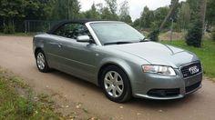 Audi A4 Cabrio 2,0 l (Leder, Xenon)   Check more at https://0nlineshop.de/audi-a4-cabrio-20-l-leder-xenon/