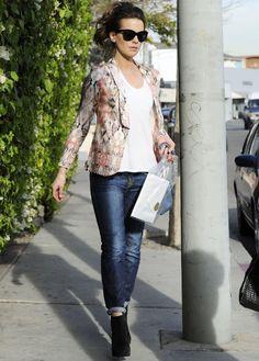 Kate Beckinsale: Celebrity Street Style 2013