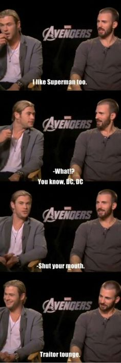 Chris and Chris