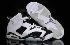 Nike Air Jordan Retro 6 AJ6 Perfect Jordan 6 Basketball Shoes Men And Women Shoes Oreo|only US$98.00 - follow me to pick up couopons.