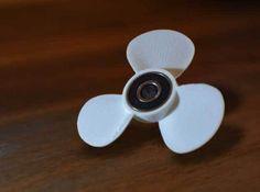 Boat Propeller - Fidget Spinner 3d printed