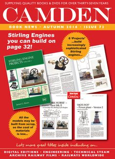 Our October 2016 Booklist - 72 pages of great information for model engineers, steam enthusiasts, and the mechanically minded. Sent FREE worldwide - contact us for your copy! Great Books, New Books, Stirling Engine, Frame Of Mind, Engineers, Book Lists, How To Find Out, October, Mindfulness