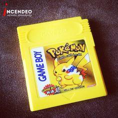 Nintendo Game Boy Collectible Pokemon Yellow Version Game Cartridges. #pokemon #nintendo #gameboy #gba #yellow #pikachu #game #retro #museum #collection #collectibles #incendeo #infiniteserendipity #nintendo #精灵宝可梦go #宝可梦 #玩具 #收藏