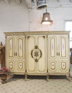 Painted Cottage Chic Shabby French Armoire AM06 by paintedcottages, $1795.00