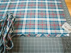 How to Make a Headboard Slipcover with No-Sew Piping