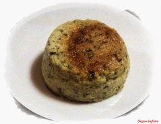 SaporInfoto: Sformatino di Ricotta e Zucchine