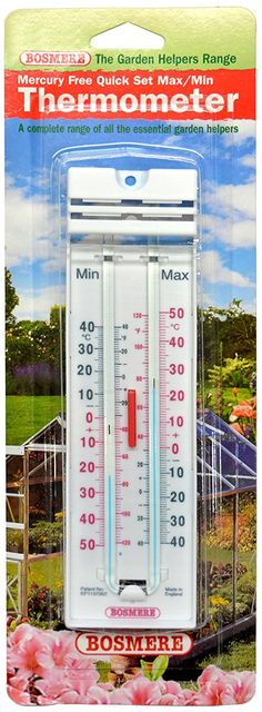 Bosmere K172 Mercury Free Quick Set Max/Min Thermometer * Check out the image by visiting the link. #GardenDecor