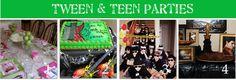 tween and teen parties