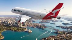 Stunning photos, video as Qantas, Emirates A380s fly over Sydney Harbour