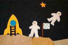 Space felt board