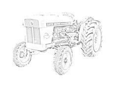 Trattore Fendt Farmer 307 C da stampare e colorare. Vedi