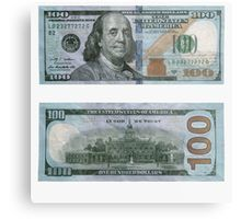 Dollar Bill - Money' Metal Print by rocklanone 100 Dollar Bill Tattoo, Fake Dollar Bill, Fake Money Printable, Money Wallpaper Iphone, Money Template, Money On My Mind, Money Notes, Dollar Money, Coins Worth Money