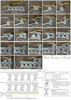 filet crochet technic More how to read charts Some info about filet increases and decreases Free Crochet Stitches from Daisy Farm Crafts - Pin by emilia on crochet Crocheted motif no. Crochet Symbols, Crochet Motifs, Crochet Diagram, Crochet Stitches Patterns, Crochet Chart, Crochet Designs, Stitch Patterns, Knitting Patterns, Crochet Twist