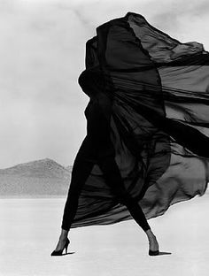 © herb ritts, black and white, wind