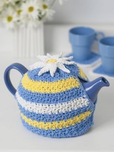 The Prettiest Tea Cozies to Crochet – 24 free patterns | Grandmother's Pattern Book