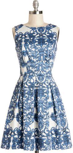 Closet Ain't We Haute Fun? Dress in Paisley