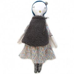 handmade rag doll (confetti dress)
