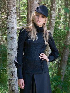 Schnittmuster: Rollkragen-Pulli - Ärmelbündchen - Pullover & Cardigans - Damen - burda style
