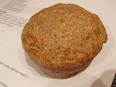 apple-cinnamon protein muffins