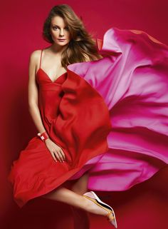 red & pink - Dior