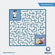 ¡Ayúdame a llegar a los cuartitos de leche alpura por favor! #AlpuraMeGusta