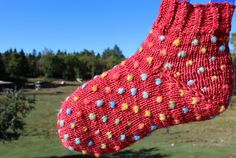 Ravelry: Thrummed slipper sock pattern by Lise Marleau Nesbitt