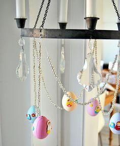 Easter eggs + beads