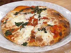 Classic Margherita Pizza - New York Style