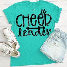 Cheerleader svg cheer svg cheer shirt cheer svgs cheer Source by Cute Cheer Shirts, Cheer Coach Shirts, Cheer Coaches, Cheer Shorts, Team Cheer, Team Shirts, Cheer Bows, Cheer Camp, Football Cheer