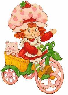 Strawberry Shortcake - on Bike