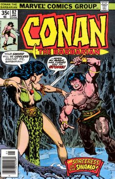 Oh yeah, had tons of Conan