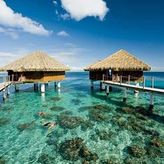 Perfection, the only place I really ever want to see....don't have a travel bug in me, but I have always wanted to stay in the overwater bungalows...