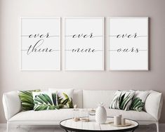 Family home Wall Colors - Let's Stay Home Wall Art Let's Stay Home Art Print Set Of 3 Prints Let's Stay Home signs Lets Stay Home Decor Set Of Three Prints Inhale Exhale, Love Wall Art, Wall Art Sets, Love Is Patient Love Is Kind, Be Our Guest Sign, Guest Room Decor, Bedroom Decor, Bedroom Wall, Master Bedroom