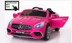 Licensed Mercedes AMG Ride On Car in Black is the newest toy car licensed for use by Mercedes. The toy model is the replica of the original car.