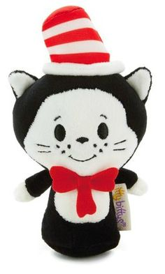 Seuss LE Plush Horton and The Cat In The Hat Hallmark itty bitty bittys NWT Dr