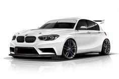 BMW 1 Series Hatch Racing Car by ADF Motorsport - http://www.bmwblog.com/2015/05/29/bmw-1-series-hatch-racing-car-by-adf-motorsport/