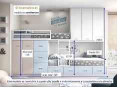 Train bed with attics - juan andrade - Kinderzimmer - Babyzimmer Comfy Bedroom, Small Room Bedroom, Girls Bedroom, Bunk Bed Designs, Girl Bedroom Designs, Home Room Design, Kids Room Design, Kids Bedroom Furniture, Bedroom Decor
