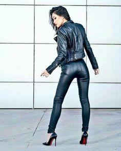 Gorgeous 57 Cool-Girls WaysTo Wear Leather Legging https://bellestilo.com/135/57-cool-girls-waysto-wear-leather-legging