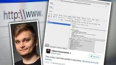 Suomalaisen Viljamin paljastus: Näin nettisivut urkkivat luottokorttitietosi ja puhelinnumerosi – ja näin estät sen