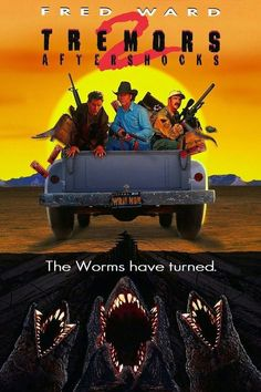 Horror Movie Posters, Horror Movies, Fred Ward, 1990s Movies, Worms, How To Plan, Fun Stuff, Battle, Mexican