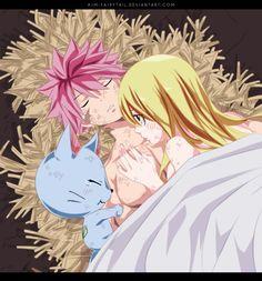 Natsu, Lucy & Happy ~