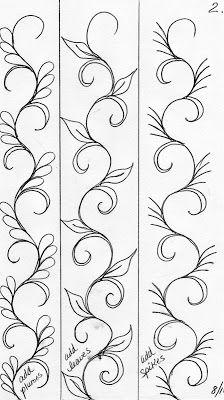 LuAnn Kessi: Quilting SketchBook....Sashings and Narrow Borders