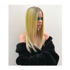 Yellow. Grey. Long Hair. Sleek. Grey Yellow, Long Hair Styles, Beauty, Long Hairstyle, Long Haircuts, Long Hair Cuts, Beauty Illustration, Long Hairstyles, Long Hair Dos