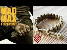How to Make a Mad Max Paracord Cobra Stitch Bracelet Tutorial - YouTube