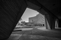 H.U.D. : Robert C. Weaver Federal Building, Washington DC (1965-68) | Marcel Breuer and Herbert Beckhard; Nolen-Swinburne and Associates
