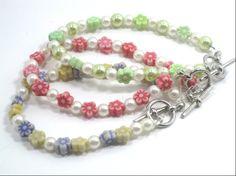 Children's Petite Ladies Beaded Bracelet Set of 3 by cynhumphrey, $13.75