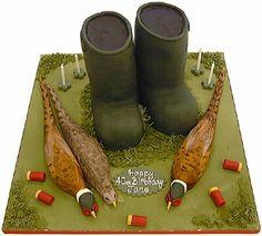 Shooting cake